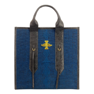 Miguel Clasic Blue Tote