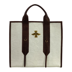 Miguel Clasic White Tote
