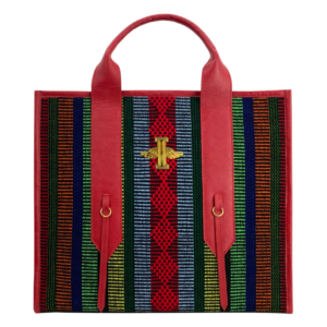 Miguel Clasic Red Tote